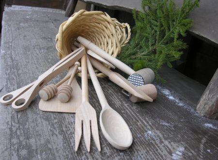 Posaterie e utensili per cucina