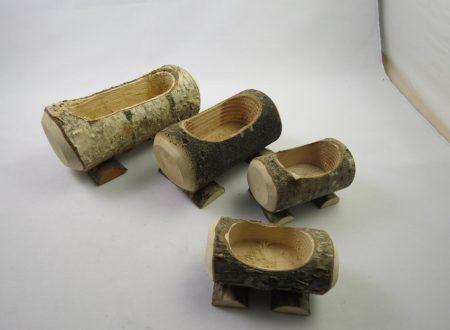 Tronchi in legno