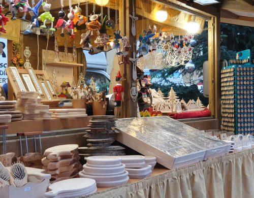 Artigianato Borelli al Mercatino di Natale a Trento